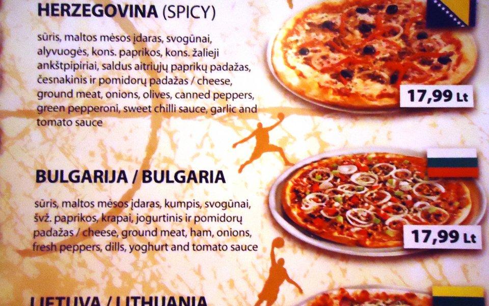"""Пица """"България"""" хапват в Клайпеда"""