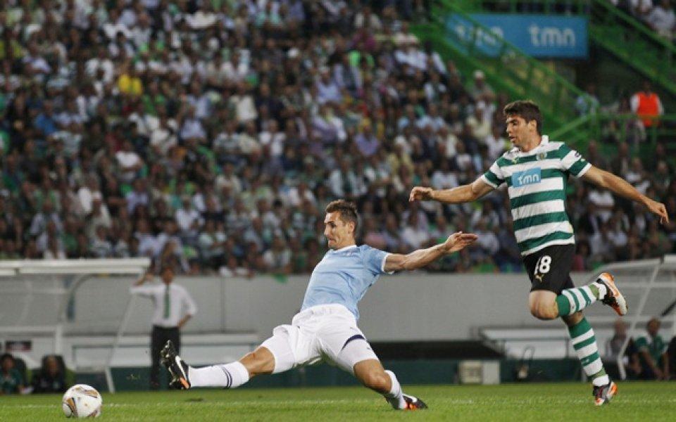 ВИДЕО: Спортинг излъга Лацио, Васлуй и Живко Миланов с ново 2:2