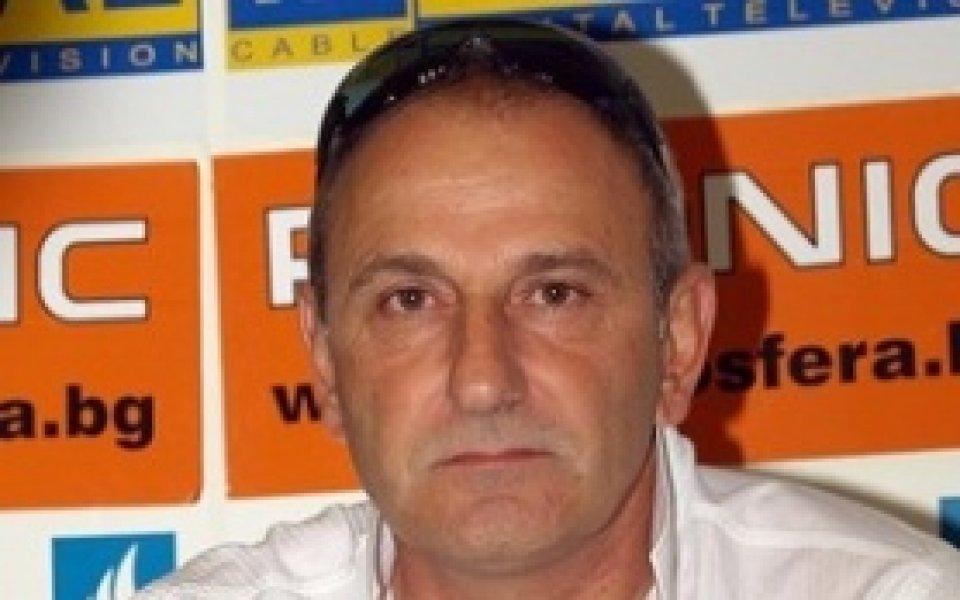 Спасов се надява на победа и в Сливен, няма да разчита на Каптиев