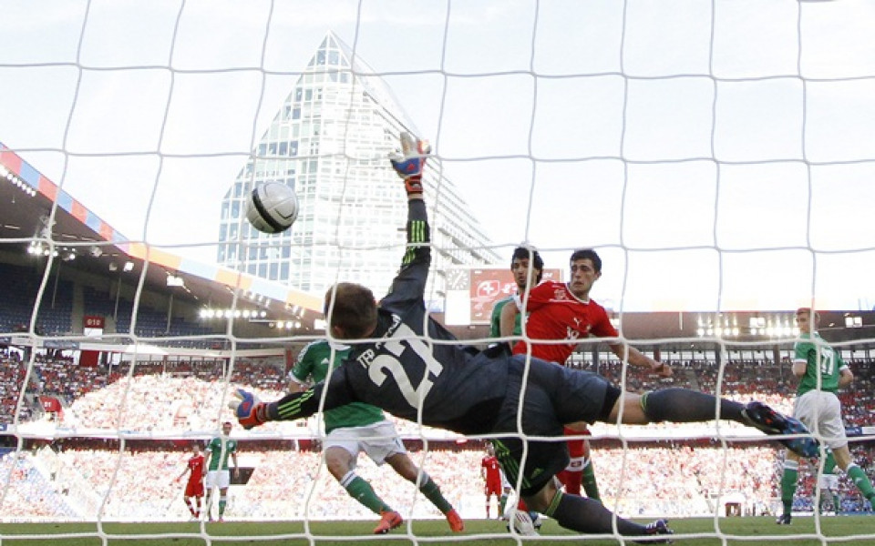 ВИДЕО: Швейцария се подигра с Германия в Базел
