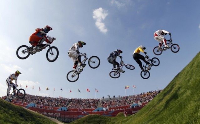 Холандският BMX колоездач Йеле ван Горком излезе от комата Олимпийският