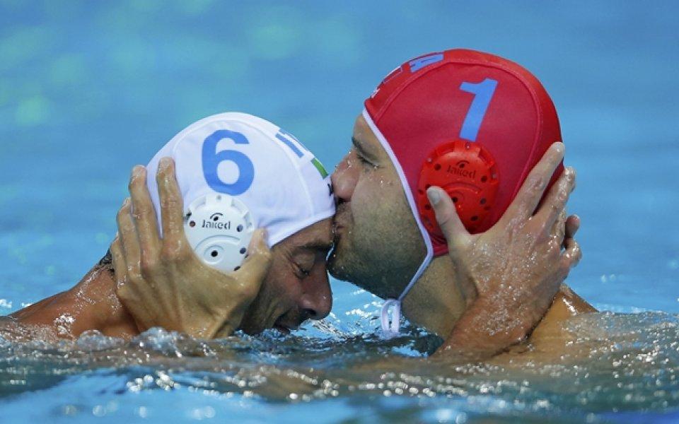 Мъжкият отбор по водна топка на Италия пусна шампионските си