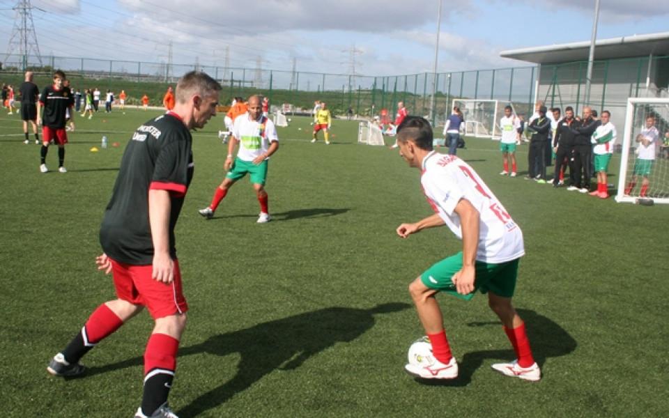 Българският Отбор на надеждата с 5 победи в 5 мача в базата на Ман Юнайтед