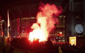 Над 100 000 гледаха финала на Лига Европа на открито в Амстердам