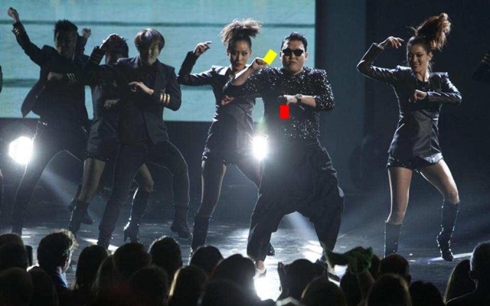 """Футболните съдии в """"Gangnam Style"""""""