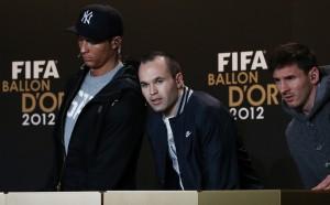 Иниеста: Роналдо напълно заслужено спечели Златната топка