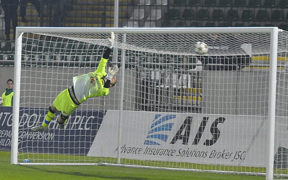 Вратар си тръгна от Ботев Враца в навечерието на мача с Поморие