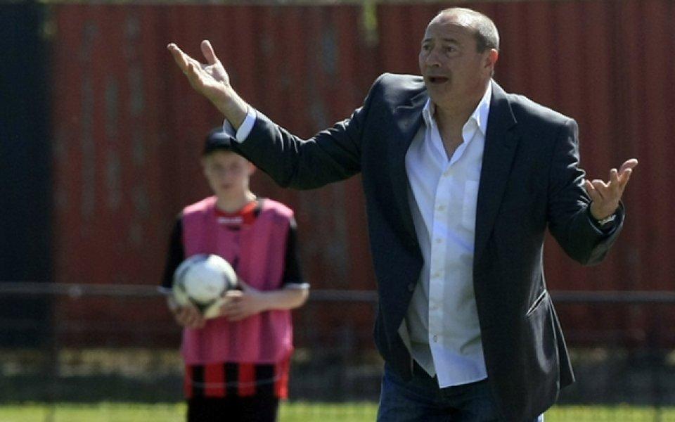 Бившият треньор на Левски Емил Велев коментира предстоящата визита на