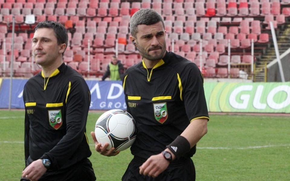 Цветан Кръстев ще свири финала Берое – Левски