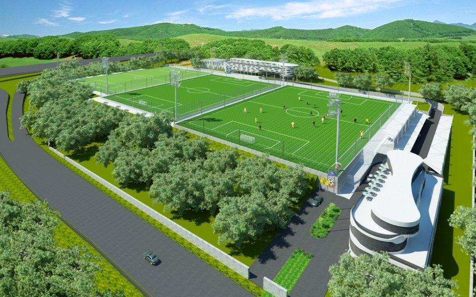 "БФС представи своя ""Дом на футбола"""