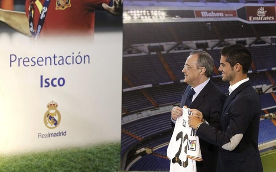 Иско: Реал Мадрид е върхът в кариерата за всеки футболист