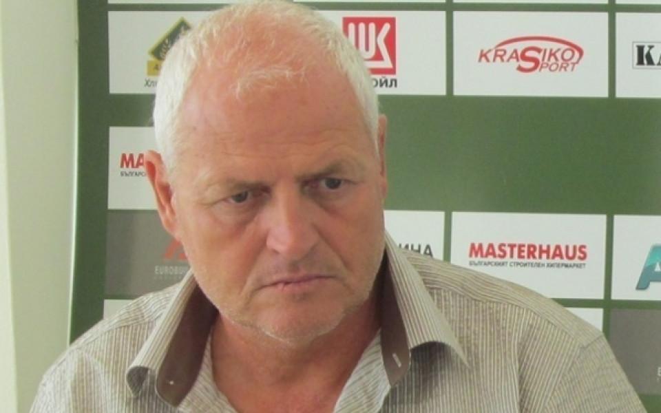 Валерий Дамянов е новият треньор на Локо Сф