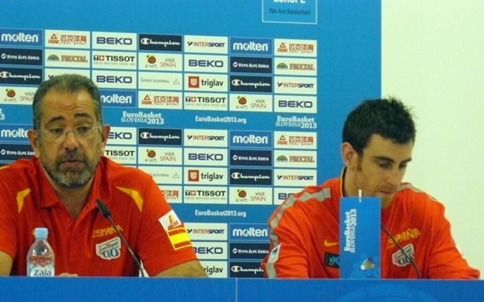 Треньорът на Испания: Играчите ми много искаха медал