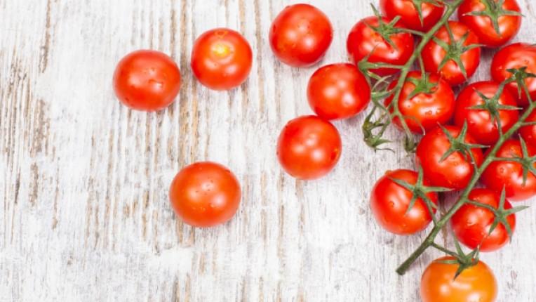 чери домати пица салата конфитюр печене техника тесто