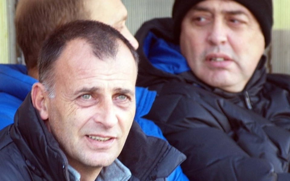 Тони Здравков: Равностойни сме със слабите отбори