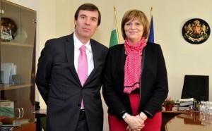 Министър Георгиева дава пресконференция за Сочи