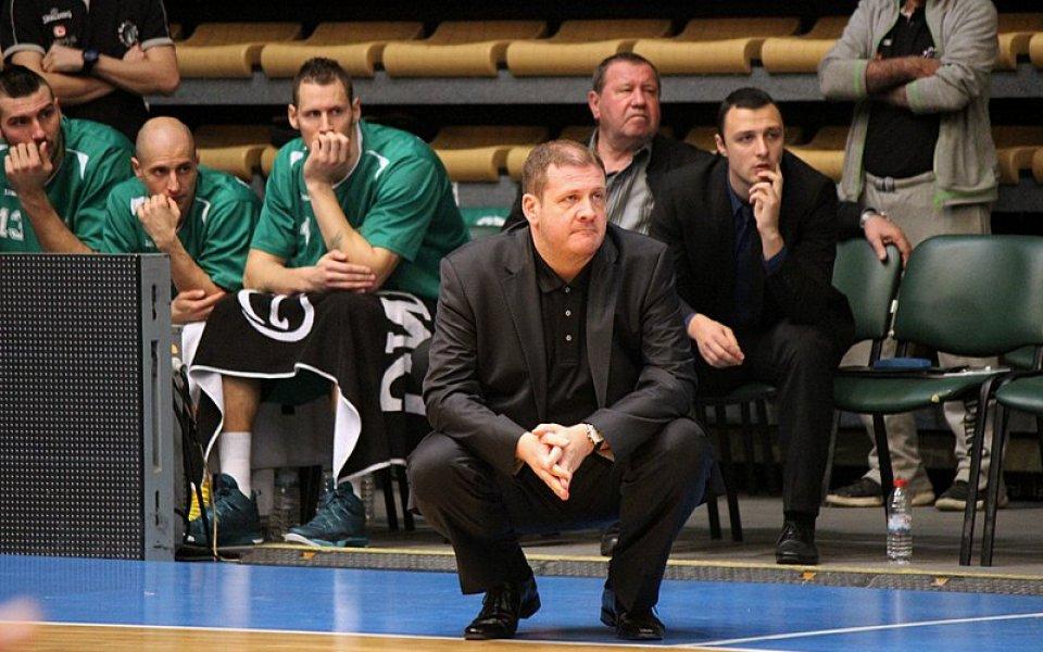 Ацо Тодоров извади отбора си в контрола с Рилски спортист