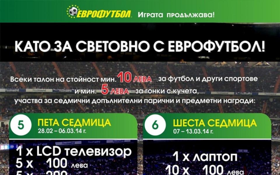 """Софиянец с голяма награда от 3 000 лева от """"Като за Световно с Еврофутбол!"""""""