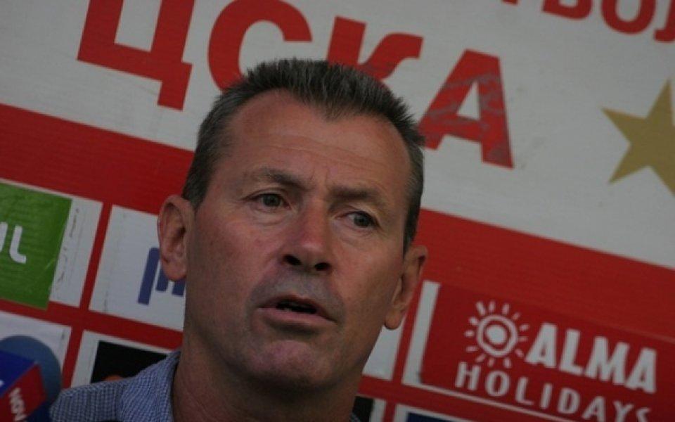 Бившият футболист и шеф в ЦСКА Георги Илиев-Майкъла бе гост