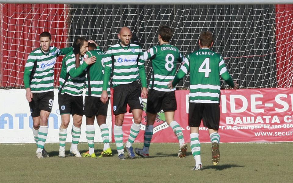 Черно море прекъсна серията с четири гола срещу Любимец