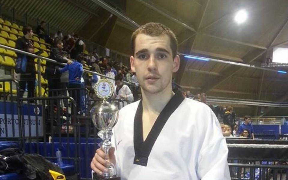 Тодор Георгиев с бронз от откритото първенство на Холандия по таекуондо
