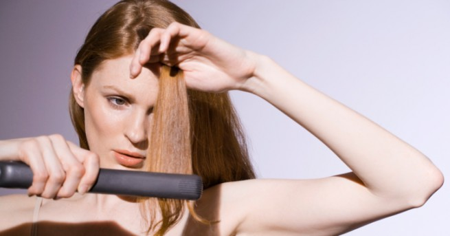 Знаете ли, че с пресата за изправяне на коса всъщност