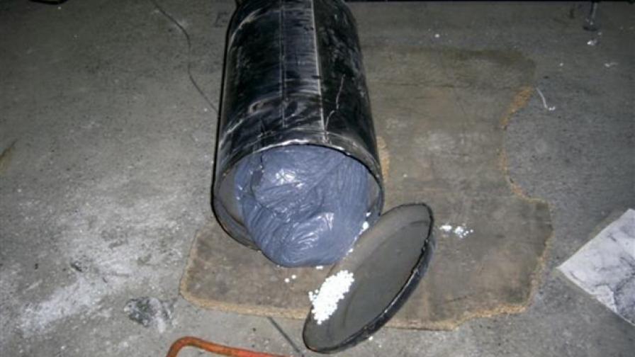 Откриха 15,5 кг таблетки с кокаин в АГУ на джип