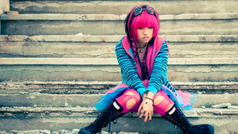 тийнейджър момиче мода