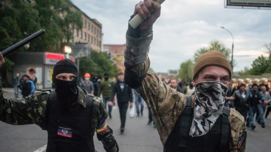Донецка област: Какво контролират сепаратистите
