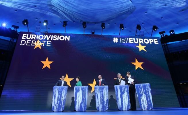 """Истинската """"Евровизия"""" събра петимата кандидати за шеф на Европейската комисия"""