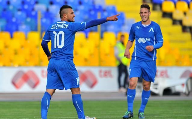Валери Божинов прекара кратък период в Левски, но той го