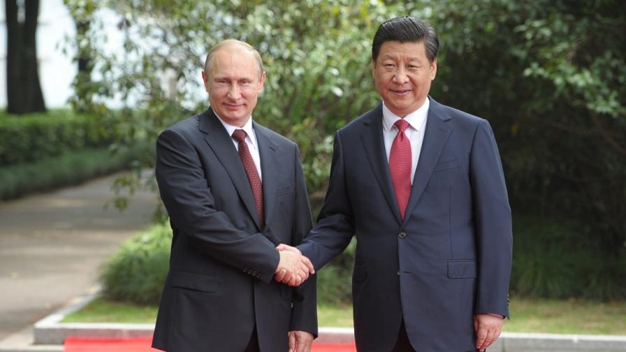 Путин и Си се обявиха против намеса във вътрешните работи на други държави