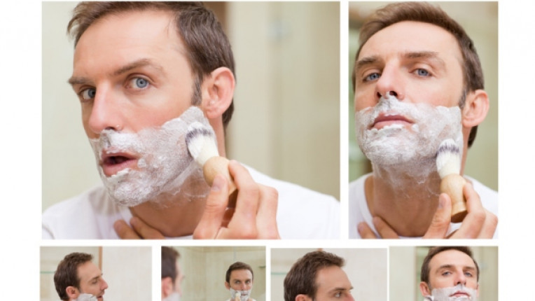 мъж брада