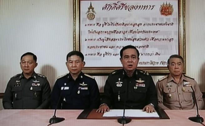 Тайланд: Главнокомандващият на армията обяви държавен преврат