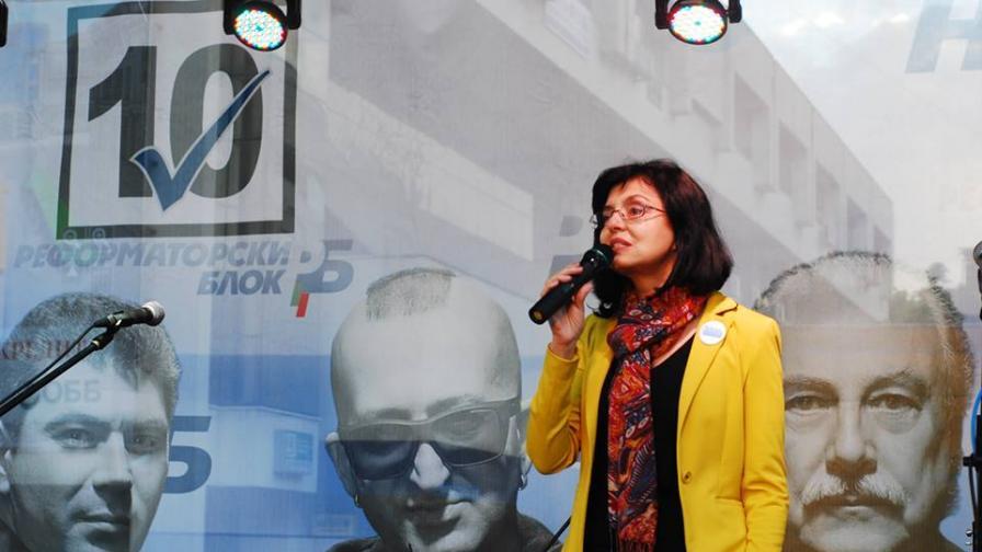 Меглена Кунева: Защо Станишев не се яви на дебат