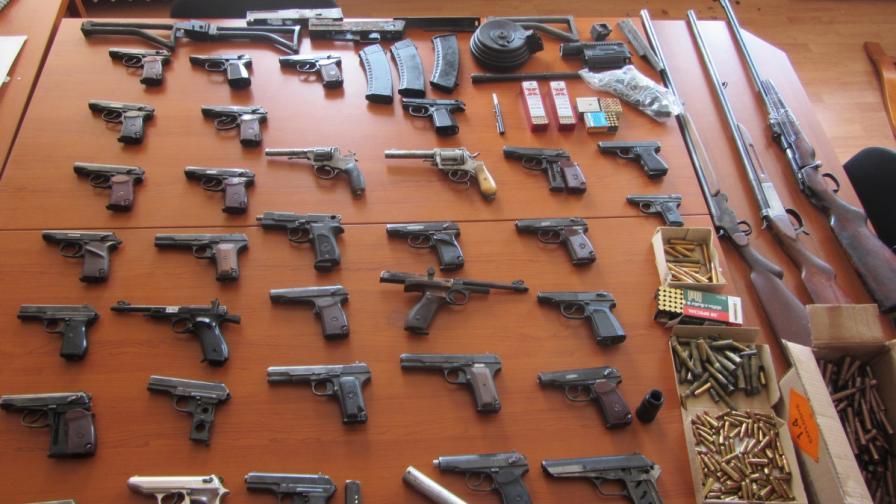 ДАНС разкри работилница за преработка на оръжия