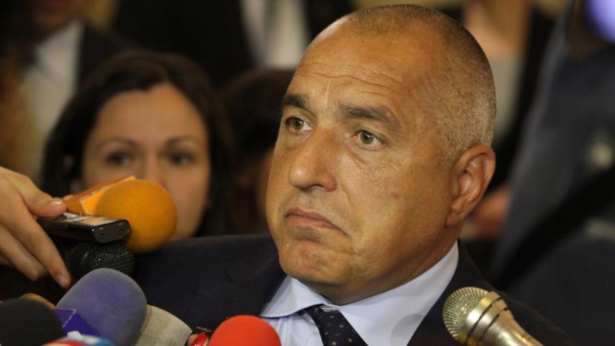 Борисов: Отварям вратата към всички, включително и БСП