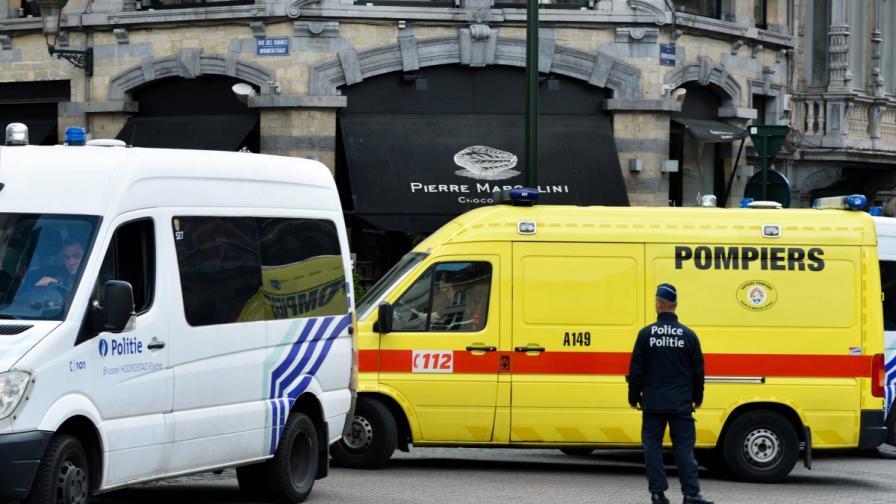 Четири жертви на атентат в центъра на Брюксел