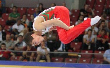 Дейвид Хъдълстон триумфира на държавното по спортна гимнастика