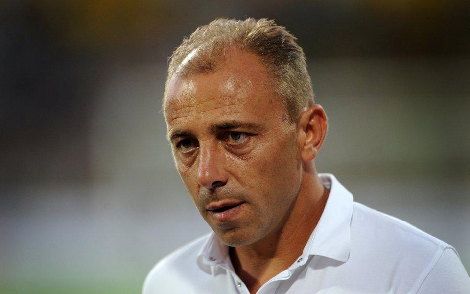 Треньорътна Черно море Илиан Илиев даде своето мнение за състоянието