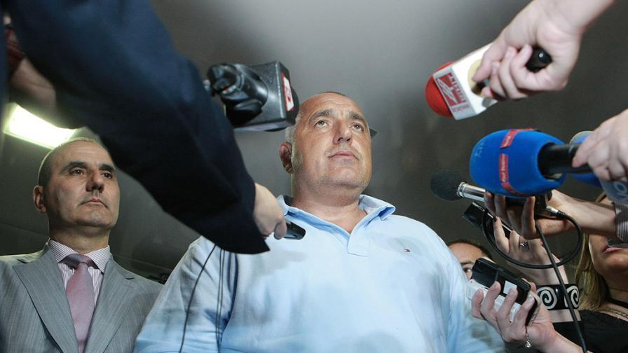 Борисов и ГЕРБ – най-споменавани в медиите преди евровота