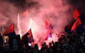 Кадри от последния двубой на Хайдук преди Левски