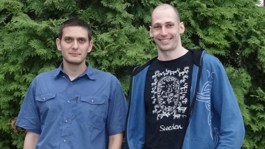 Калоян Златков и Андрей Главчев