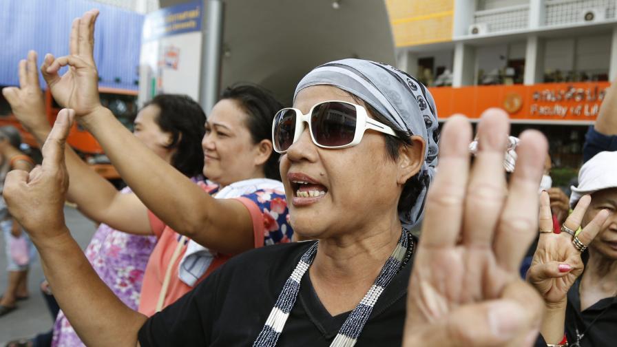 """Нова форма на съпротива в Тайланд – ала """"Игрите на глада"""""""