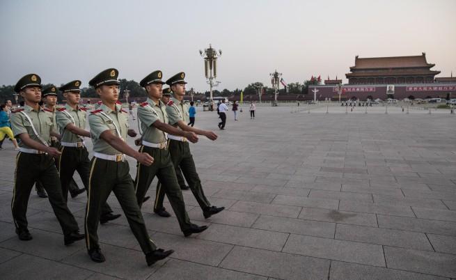 """Китай защити смазването на протестите на площад """"Тиенанмън"""""""