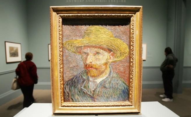 Изложиха в музей живо копие на ухото на Винсент ван Гог
