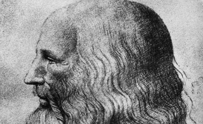 Учени опитват да спасят единствения автопортрет на Леонардо