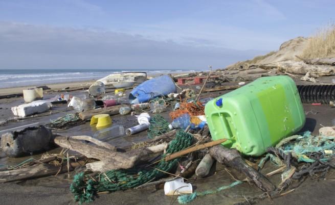 Пластмасата променя състава на скалите на планетата