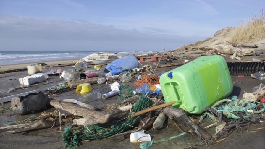 Пластмасовите боклуци образуват нов вид скала