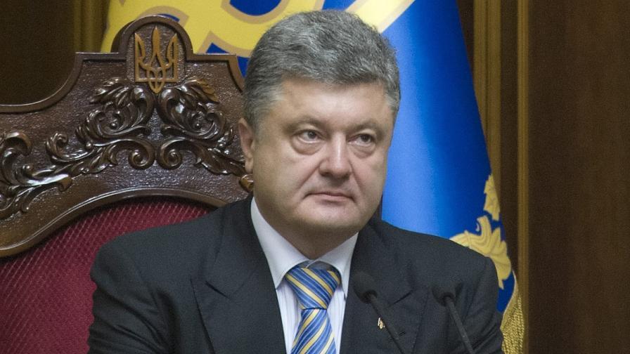 Обезвредиха бомба близо до президентството в Киев